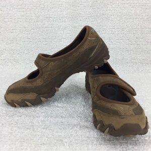 Skechers women Mary Jane slip on walking sneaker 5
